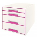 Ladeblok 4 laden Leitz WOW roze