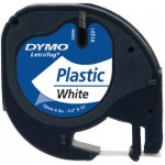 Tape Dymo LetraTAG 12mm x 4m wit